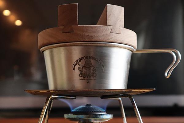 シェラカップ炊飯の火力