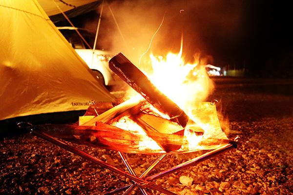バンドック焚火スタンド