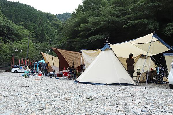 原不動滝キャンプ場