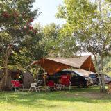 カルディアで川遊び!9月の連休キャンプ