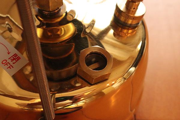 武井バーナーの給油ゲージ