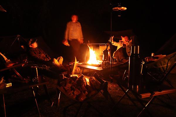 ソログルで焚き火