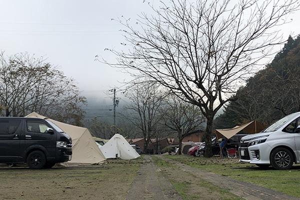 南光自然観察村の朝