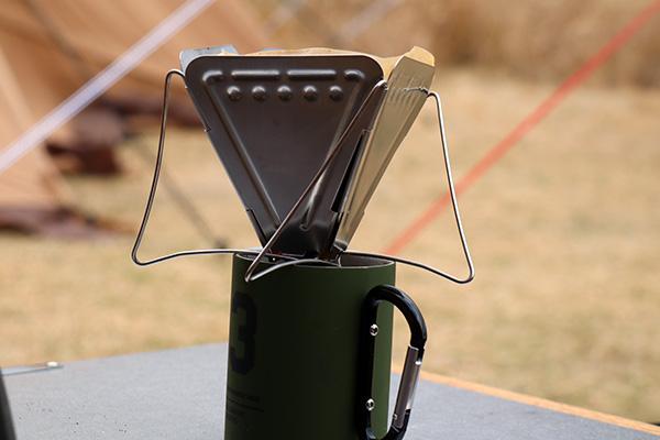 折りたたみのコーヒードリッパー