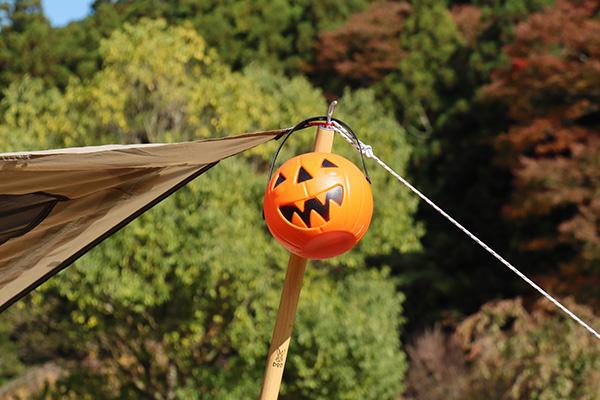 かぼちゃのバケツ