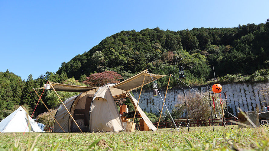 ハロウィンキャンプ in 榛原子供のもり公園