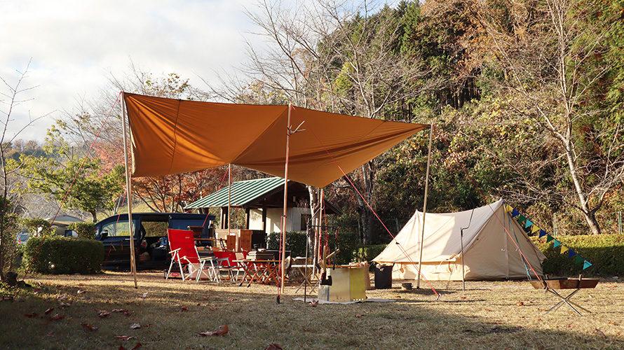 やっぶちゃキャンプ場の高規格なAサイト