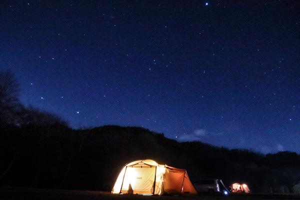 カントリーパーク大川の星空