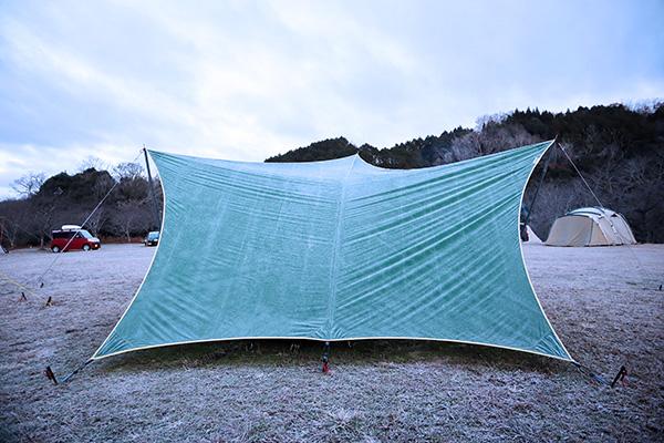 凍てつくムササビタープ