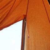 テント開閉に便利!ファスナーサポートバーを作ってみた