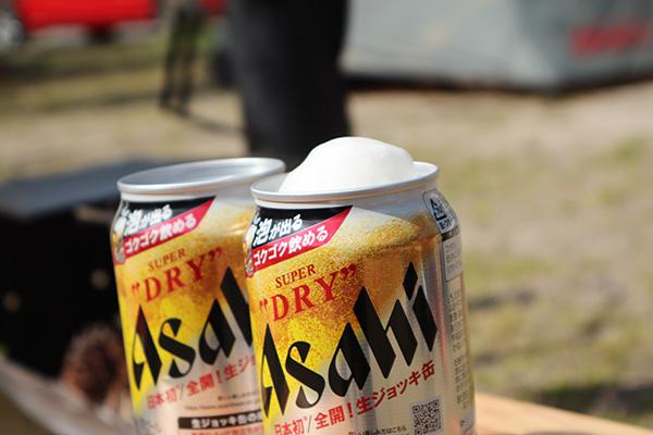 スーパードライの生ジョッキ缶