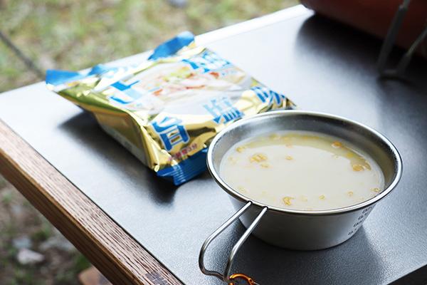 朝のカップスープ
