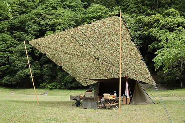 テント乾燥