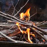 打ち金と火打ち石でオトナの火遊び!