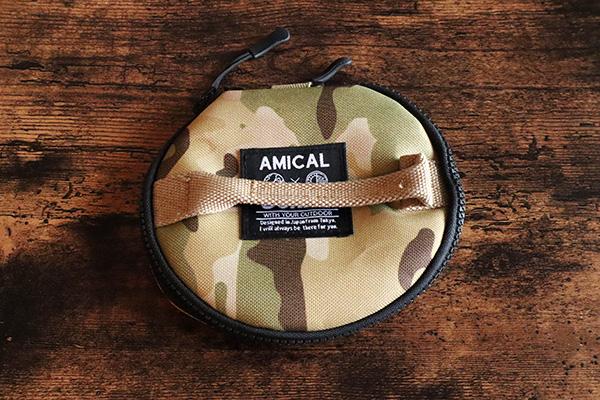 AMICAL Schlafのシェラカップケース/マルチカモ