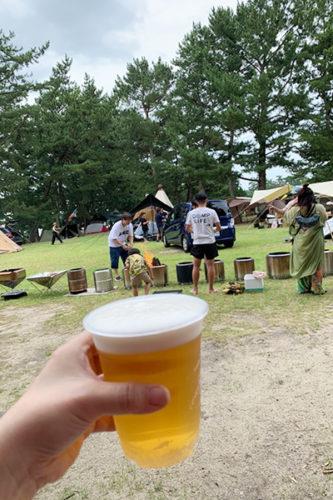サーバーの生ビールが1杯100円!
