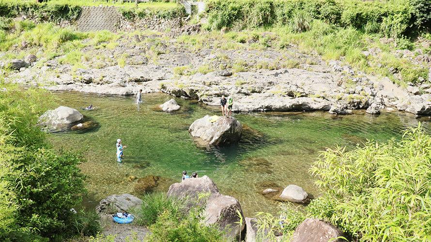 オートキャンプ場庵の郷で川遊びキャンプ