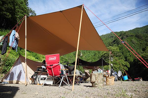 オートキャンプ庵の郷