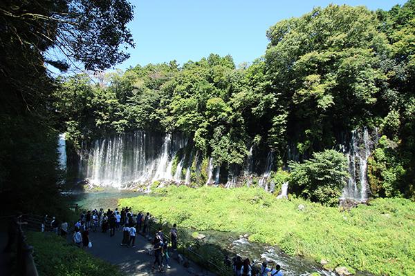大迫力の白糸の滝