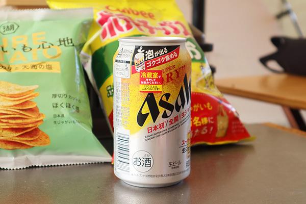 生ジョッキ缶で乾杯
